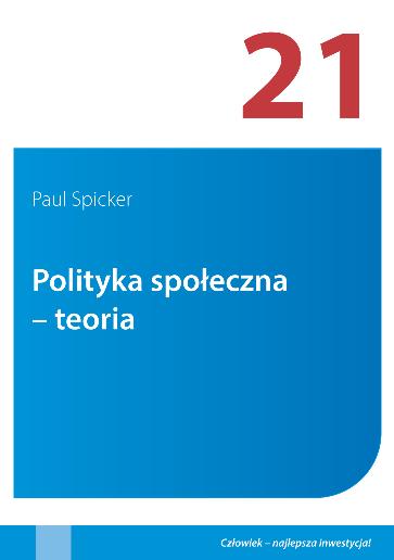 Social Policy Theory Polish