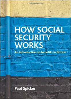 How social security works, Policy Press 2011